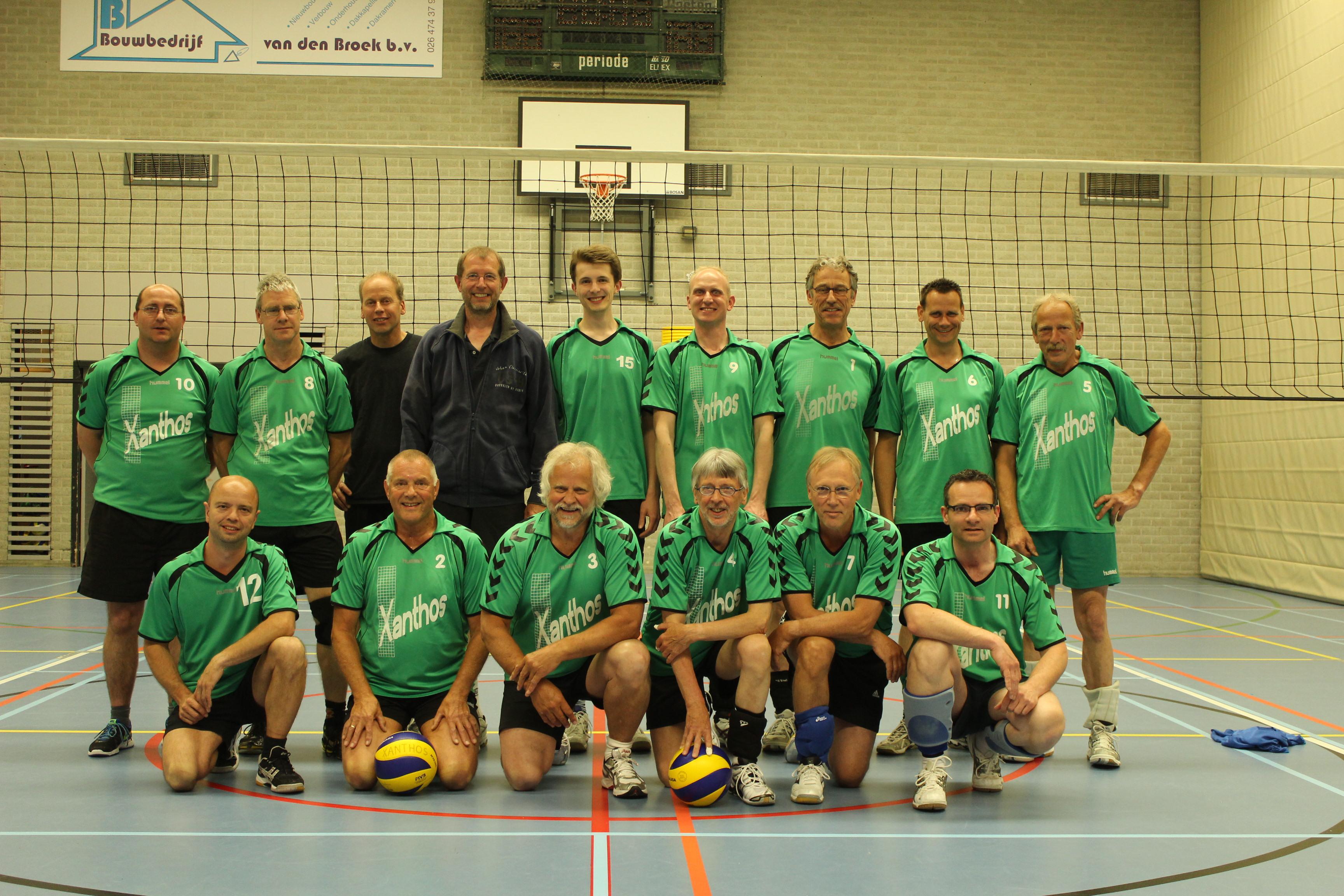 positie buiten volleybal
